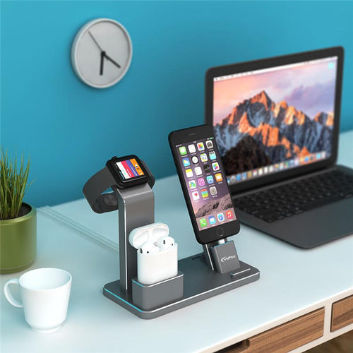 Apple device stand for your iPhone, Apple Watch, and AirPods