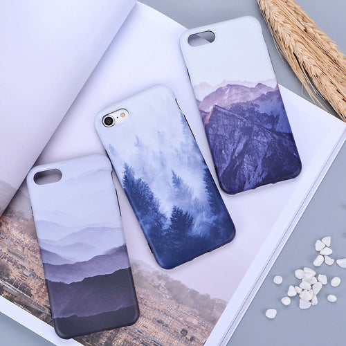 Exquisite Landscape Painted Scenery Cases