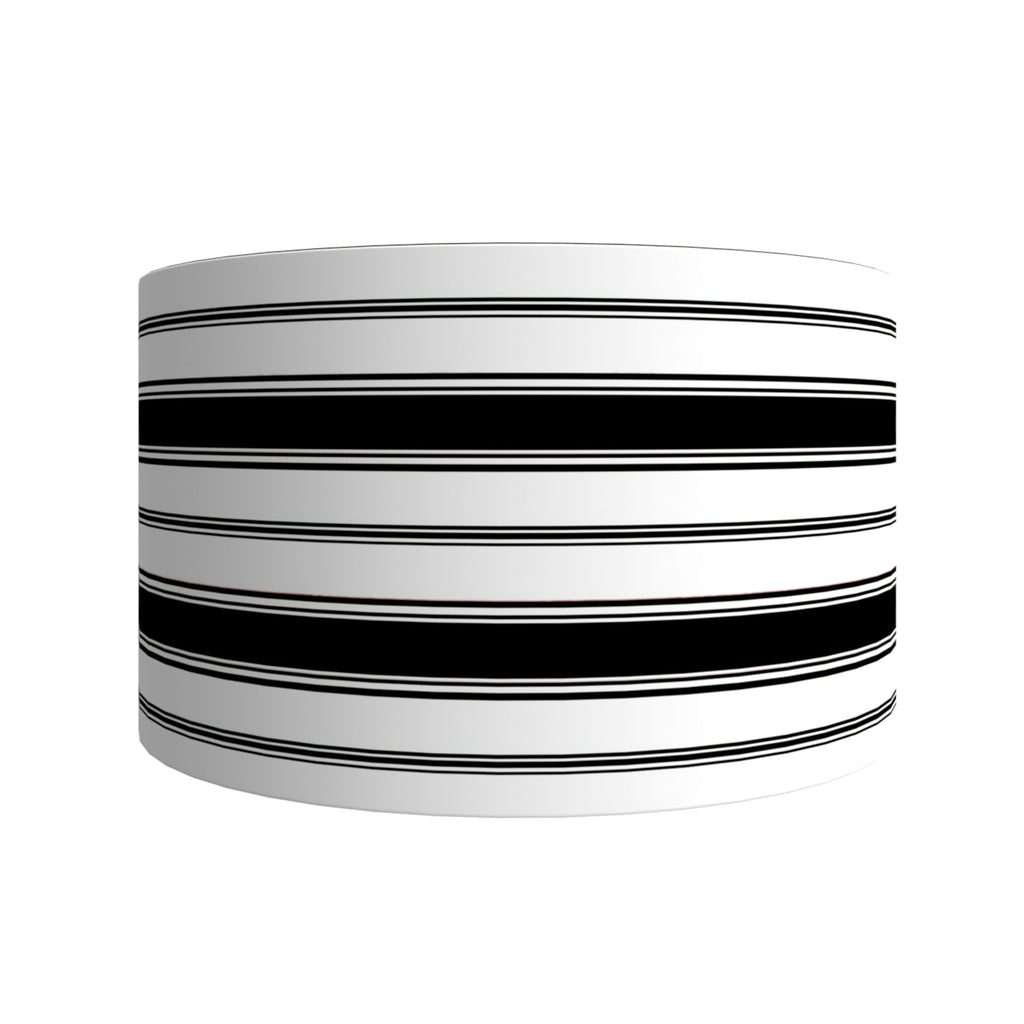 Branca Stripe Drum Shades