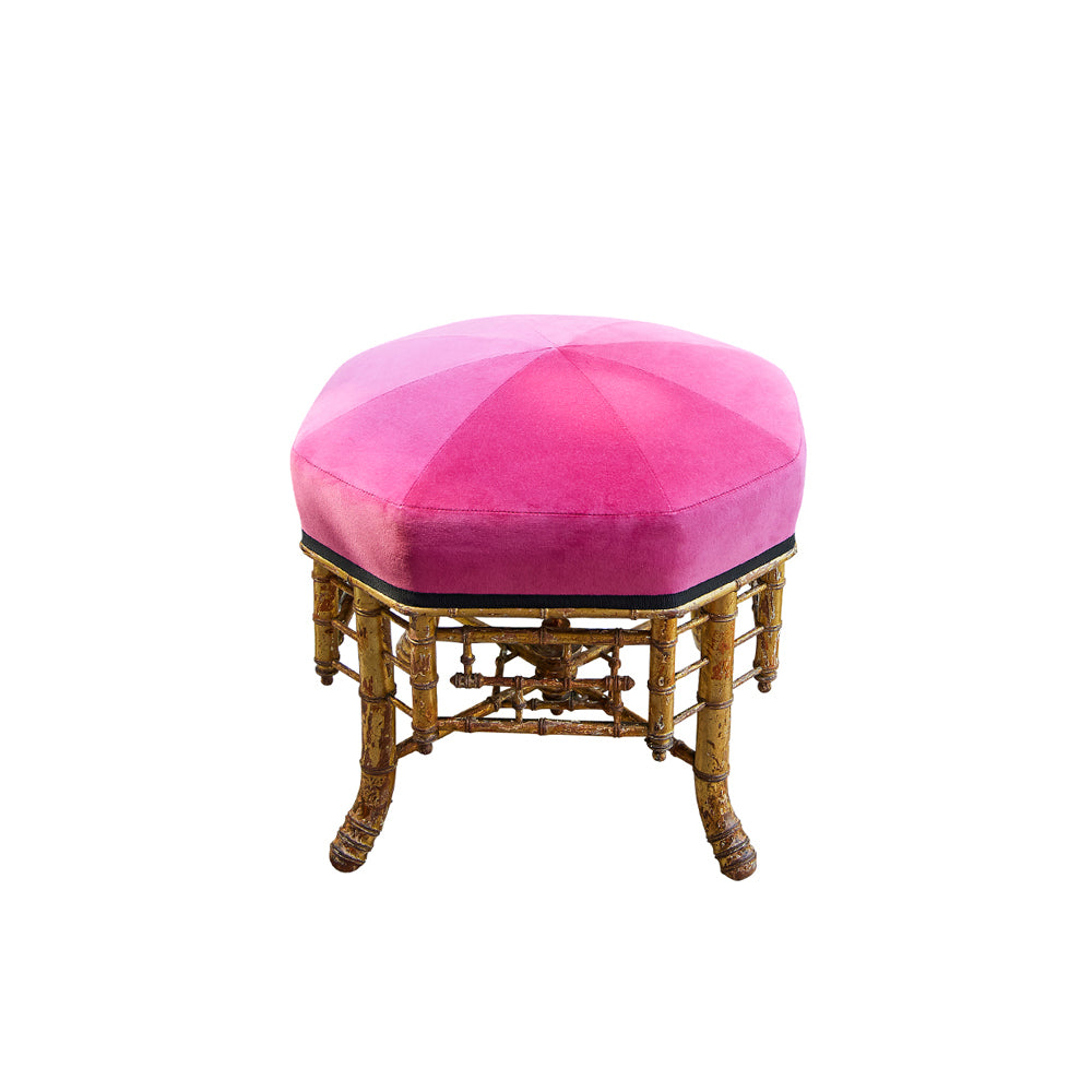 Gilt Wood Stool
