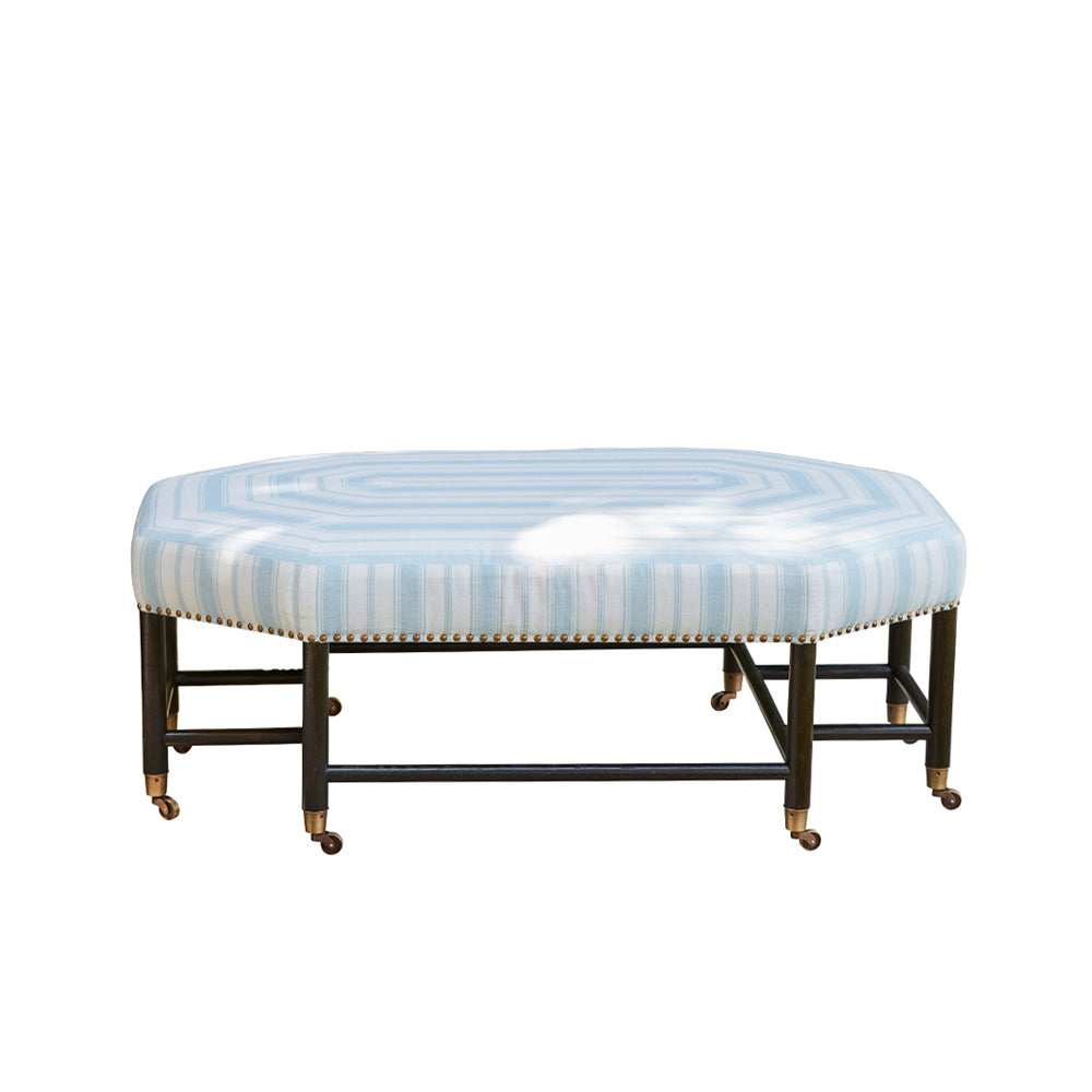 Casa Branca Collection Brighton Octagonal Ottoman