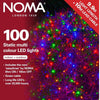 Noma 8713  Static Warm White or  Multi Colour 100 LED  sets