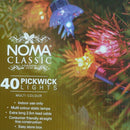 Noma  4311 Pickwick 40 light indoor set STOCK arriving 30th SEPTEMBER