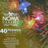 Noma  4311 Pickwick 40 light indoor set