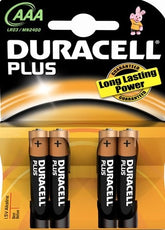 Duracell  Alkaline AAA MN 2400 4 packs of 4