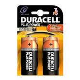 Duracell Alkaline Battery MN 1400 D type 2 pack
