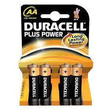 Duracell  Alkaline AA MN 1500 4 packs of 4