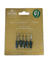 Noma G1 0344C 6volt CLEAR spares