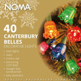 Noma 4405 Canterbury Belles 40 Light Indoor Set