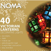 Noma 4611 Victorian Lanterns 40 light indoor set   STOCK arriving 30th September