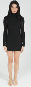 Black Curves For Days Dress - BAY BLING BEAUTY