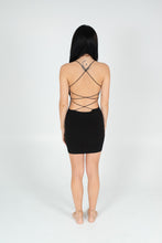Load image into Gallery viewer, Black Don't Look Back Dress - BAY BLING BEAUTY
