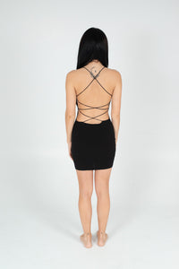 Black Don't Look Back Dress - BAY BLING BEAUTY