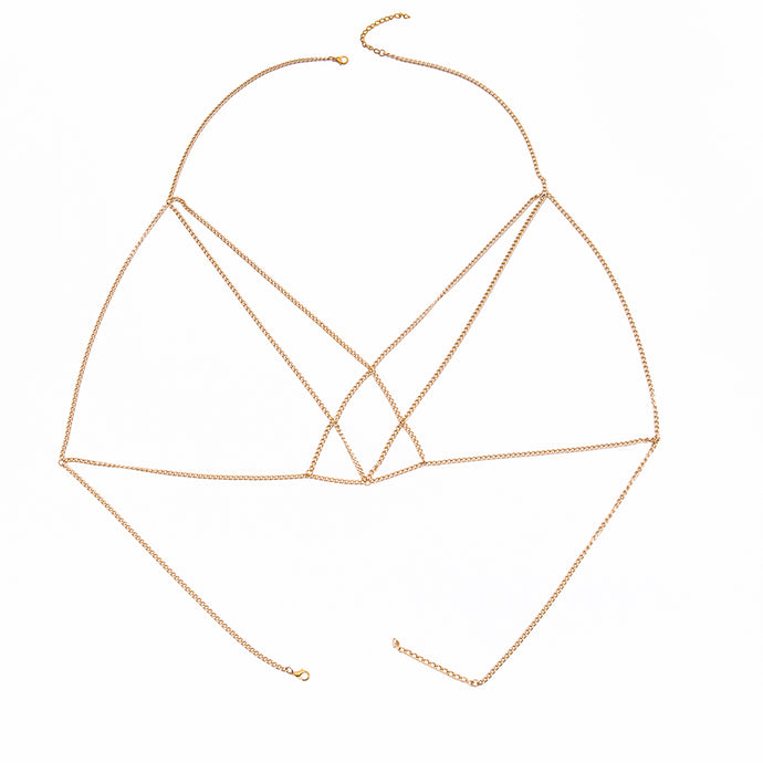 Love Triangle Body Chain