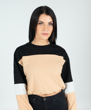 Load image into Gallery viewer, Khaki Brooklyn Sweater - BAY BLING BEAUTY