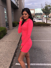 Load image into Gallery viewer, Pink Hold On Tight Dress - BAY BLING BEAUTY
