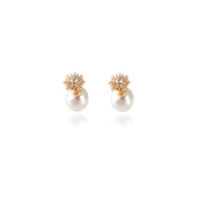 Show Beau Pearl Earrings