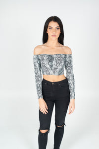 Ready For You Crop Top - BAY BLING BEAUTY