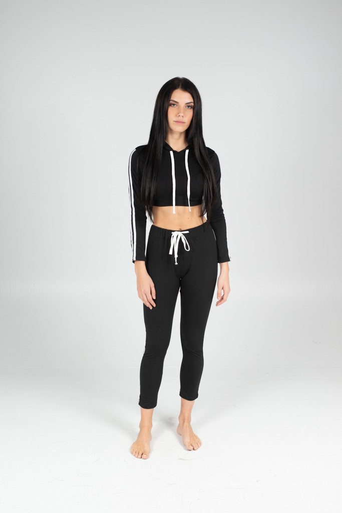 On The Go Track Pants - BAY BLING BEAUTY