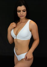 Load image into Gallery viewer, White Curve Them Bikini Top - BAY BLING BEAUTY