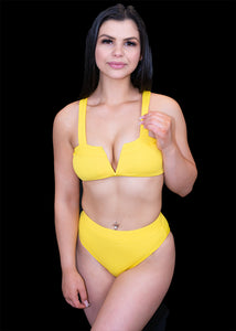 Yellow Sun Kissed Bikini Bottom - BAY BLING BEAUTY