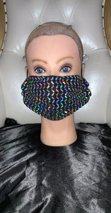Iridescent Fashion Mask