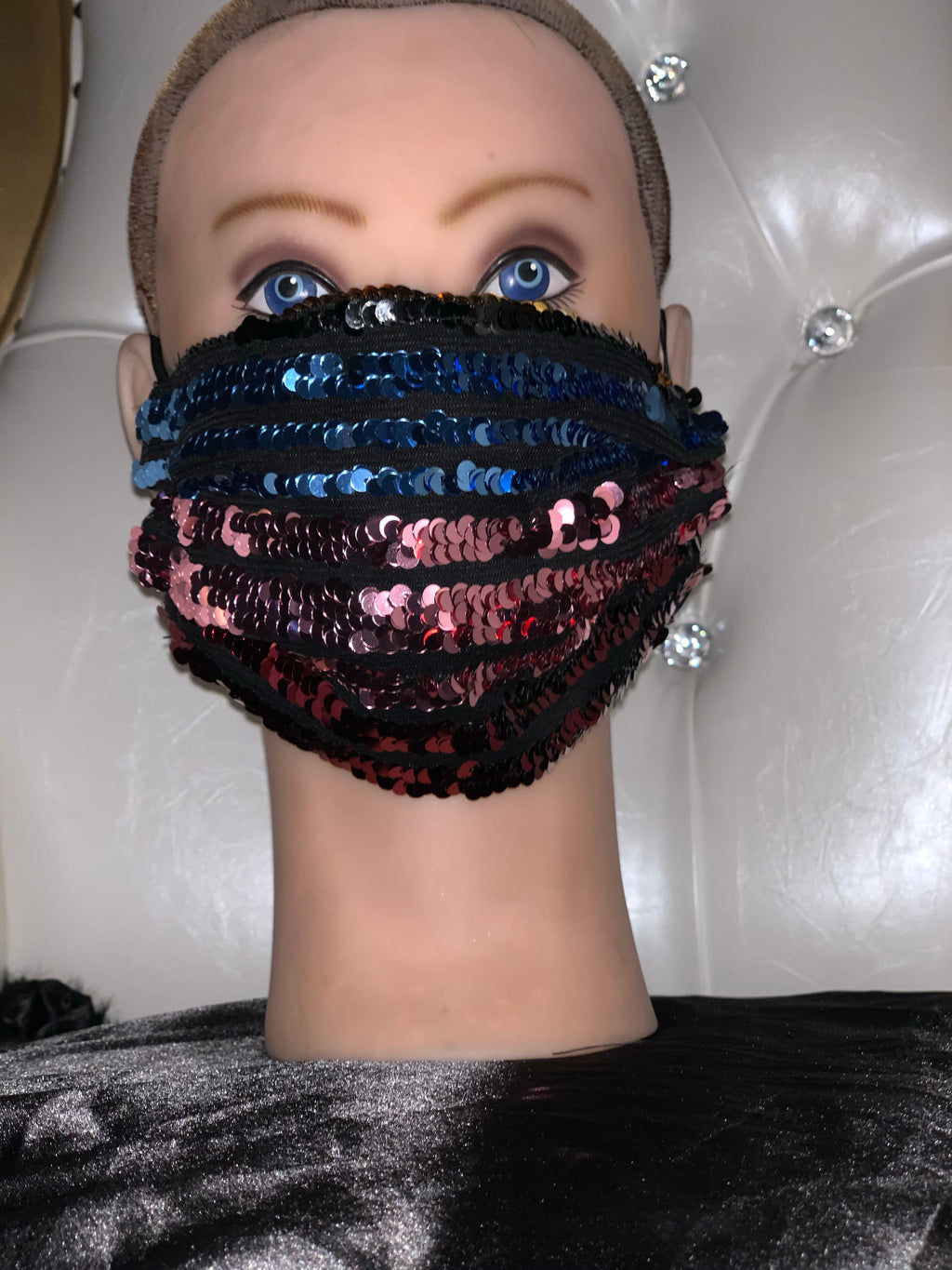 Sequin Fashion Mask