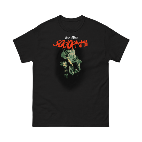 Sociopath Black T-Shirt I