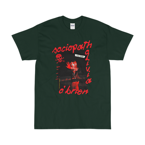 Sociopath Green T-Shirt