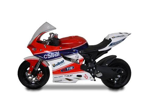 Moto gp Red Power 70cc Mini moto