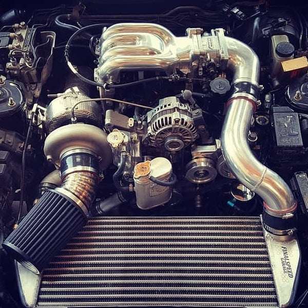 Twin Turbo Kit Rx7: TURBLOWN ENGINEERING CAST TWINSCROLL EWG FD3S TURBO KIT