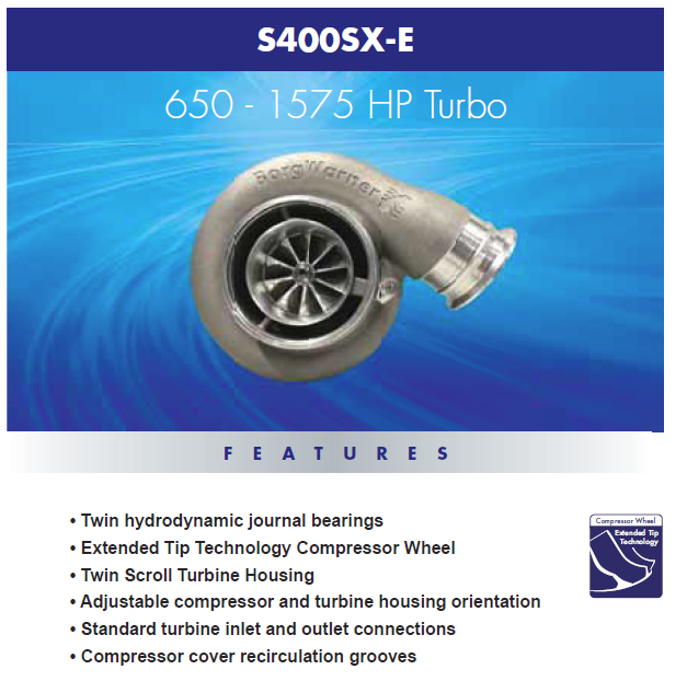 SX-E S500 900-1875 HP Turbo - Turbosource