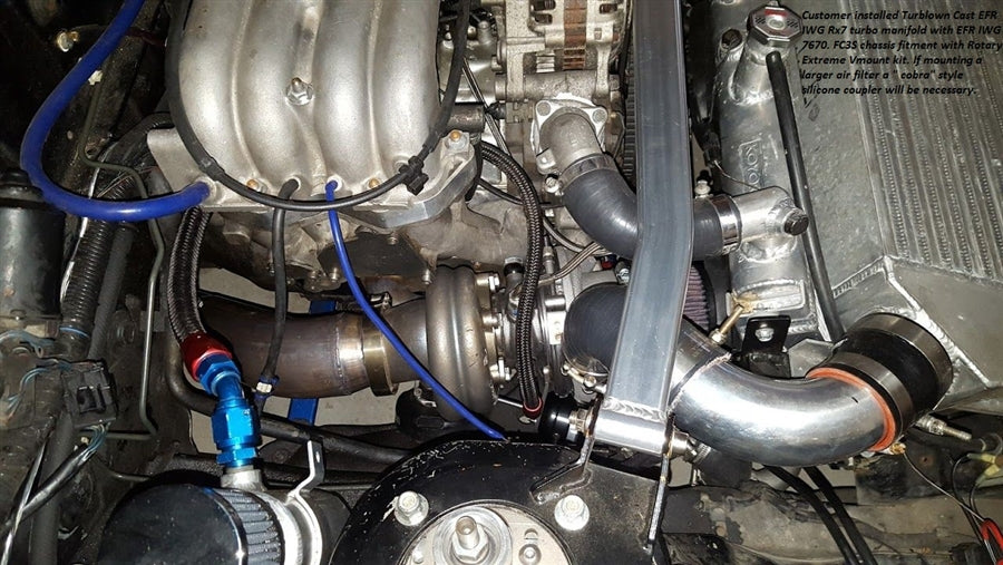 Turblown Engineering 13B Rotary Cast EFR IWG Turbo System