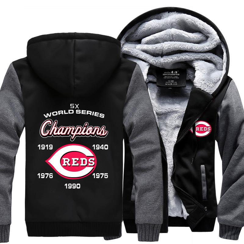 the best attitude 94861 3d296 [50% OFF !!] EXCLUSIVE CINCINNATI REDS HOODIE JACKET - FREE SHIPPING