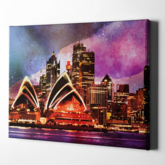 City Lights Sydney Australia