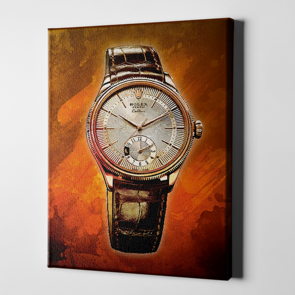 Modern Timeless Gold Watch
