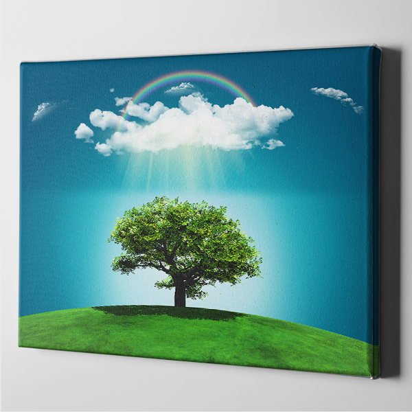 Happy Tree Landscape