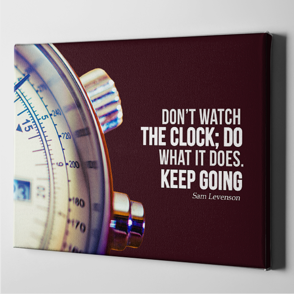 Don't Watch the Clock - Sam Levenson