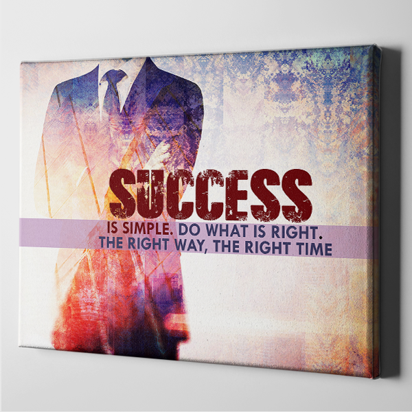 Success is Simple - Do What is Right