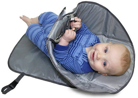 Deluxe 3-in-1 Clean Hands Baby Changing Pad