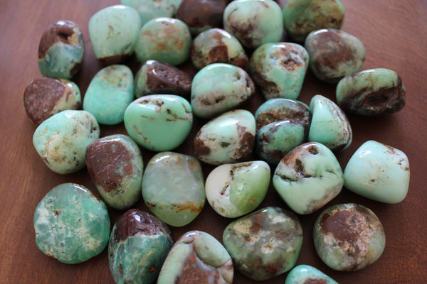 chrysoprase tumble