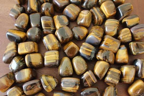 Tiger's Eye, Tumbled