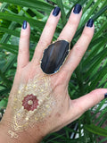 Natural Agate Ring