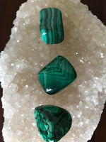 Malachite, Tumbled