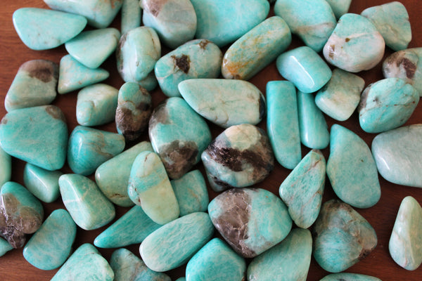 amazonite tumbled crystal