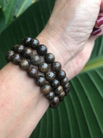 Bronzite Stretch Bracelet
