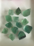 green fluorite raw specimen