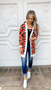 Leopard Print Cardigan- 3 colors