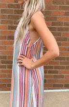 Multi Colored Stripe Maxi Dress