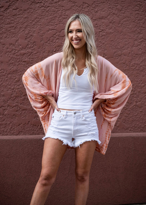 White Nashville Denim Shorts
